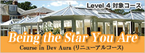 Being the Star You Are (Level 4 対象コース) Course in Dev Aura (リニューアルコース)